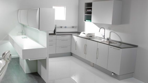 Medical cabinet / dentist office / with sink e.010 Intercontidental