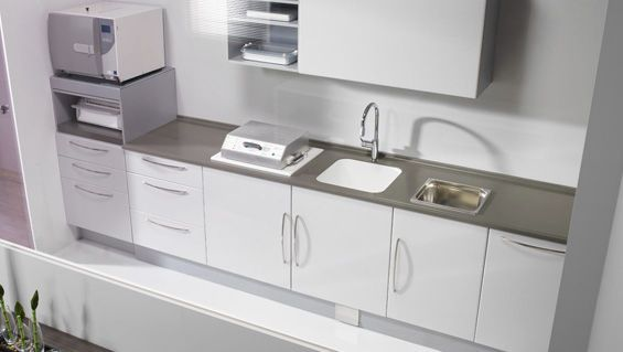 Sterilization cabinet / dentist office epure Intercontidental