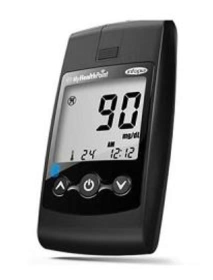 Wireless blood glucose meter 10 - 600 mg/dL | MyHealthPoint™ Infopia