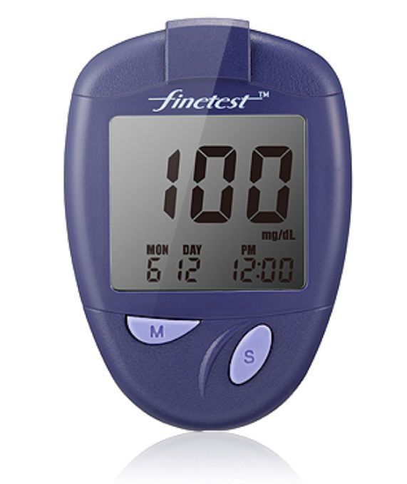 Blood glucose meter 10 - 600 mg/dL | Finetest Infopia