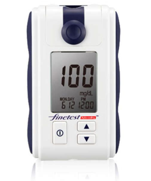 Blood glucose meter 10 - 600 mg/dL | Finetest Auto Coding Infopia