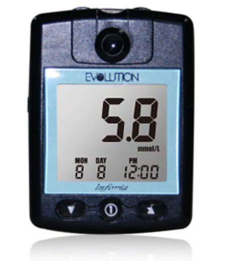 Blood glucose meter 10 - 600 mg/dL | EVOLUTION Infopia