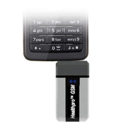 Wireless blood glucose meter Healthpro GSM Infopia