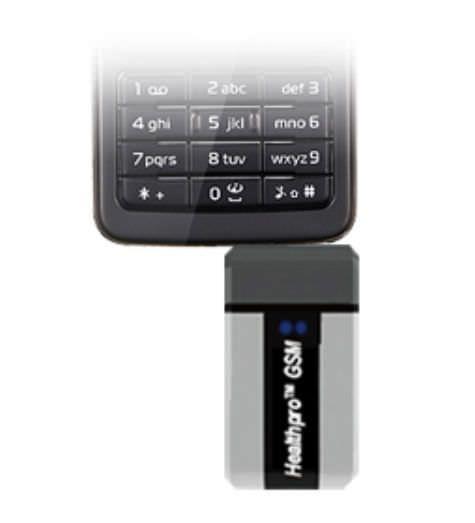 Wireless blood glucose meter Healthpro GSM Infopia