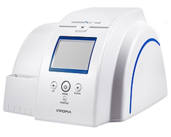 Automatic glycated hemoglobin analyzer Clover A1c™ Self Infopia