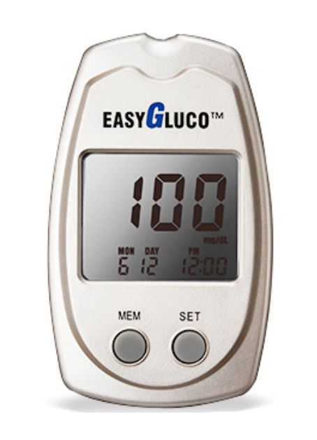Blood glucose meter 10 - 600 mg/dL | EasyGluco™ Infopia