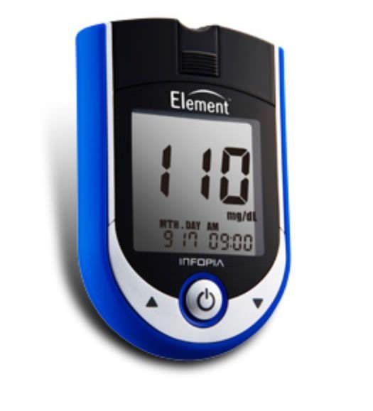 Blood glucose meter 10 - 600 mg/dL | Element Infopia