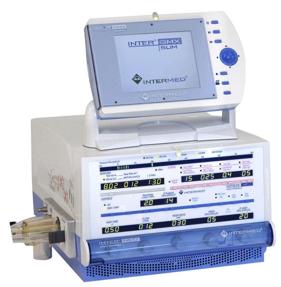 Resuscitation ventilator / infant INTER NEO Intermed Equipamento Médico Hospitalar Ltda.