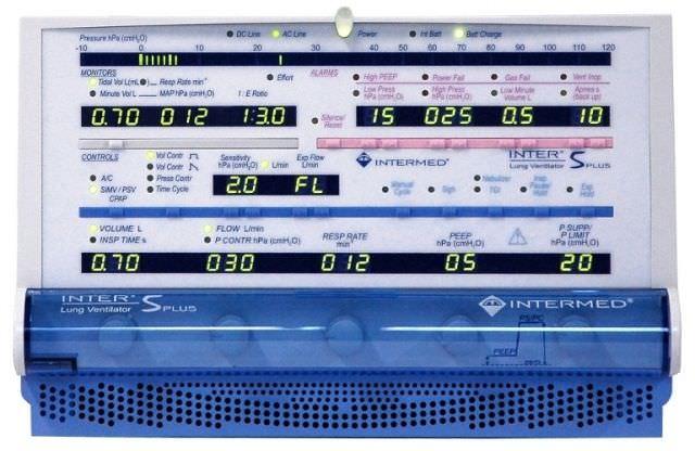 Resuscitation ventilator INTER 5 PLUS Intermed Equipamento Médico Hospitalar Ltda.