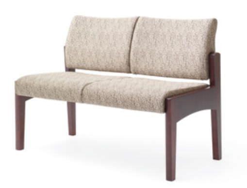 Waiting room bench / 2 seater KCNA-2 Integra