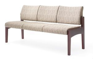 Waiting room sofa / 3 seater KCNA-3 Integra