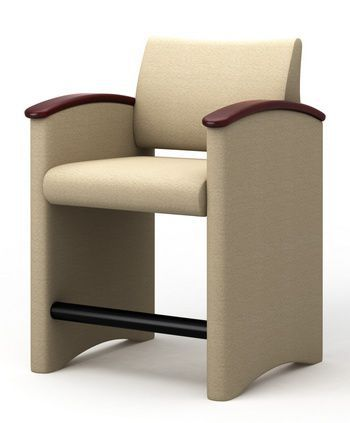 Chair with armrests P3OR-1 Integra