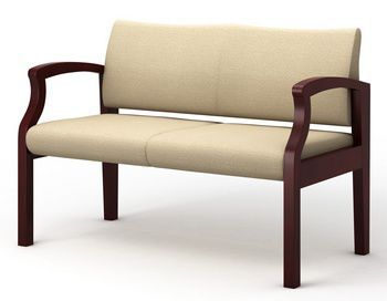 Waiting room bench / 2 seater KTOB-2 Integra