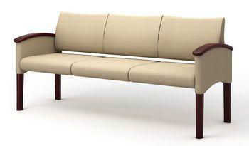 Waiting room sofa / 3 seater P4-3 Integra