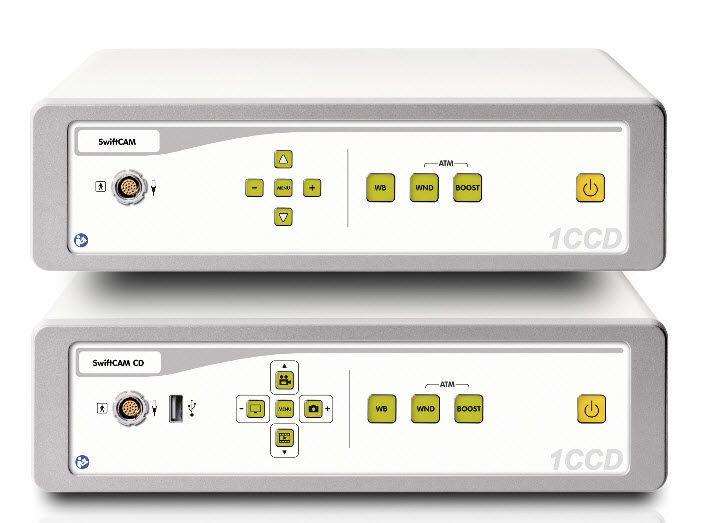 Digital camera head / endoscope / with video processor SwiftCAM series / 1CCD camera ILO electronic