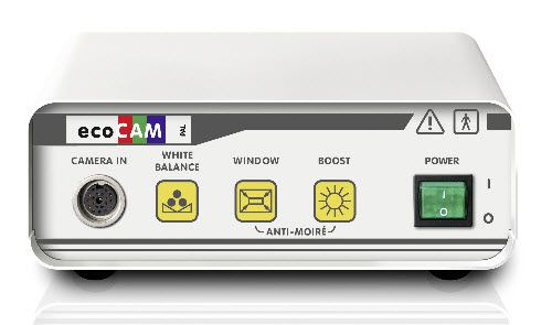 Digital camera head / endoscope / high-definition / with video processor eco CAMX / 1CCD camera ILO electronic