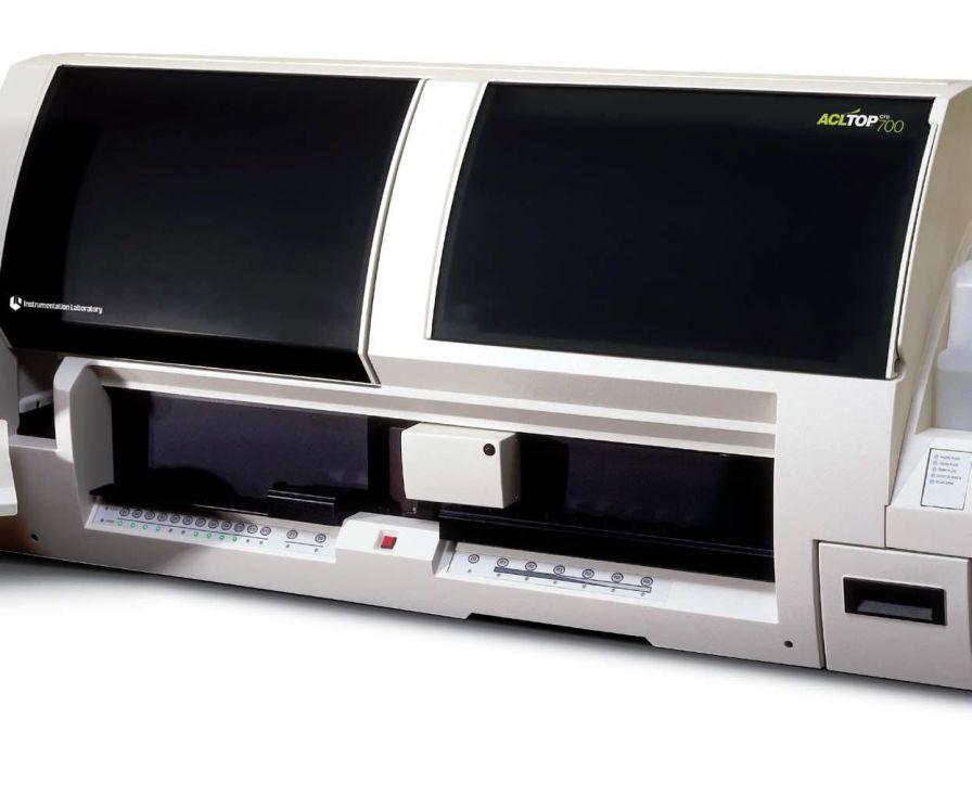 Automatic coagulation analyzer 360 tests/h | ACL TOP 700 Instrumentation Laboratory