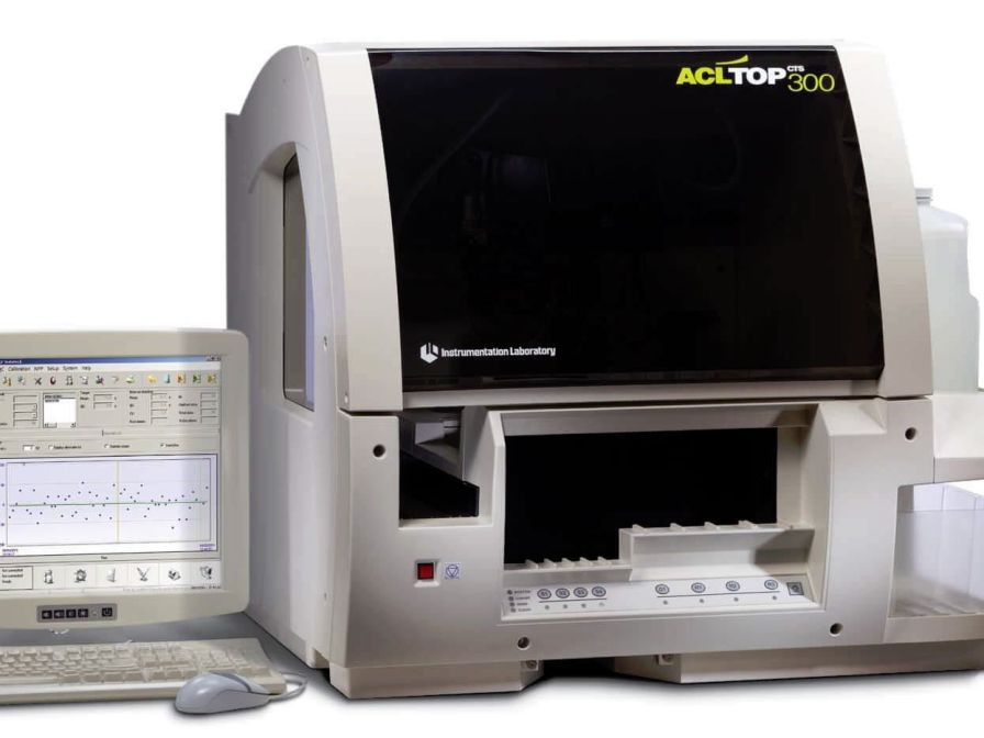 Automatic coagulation analyzer 110 tests/h | ACL TOP 300 CTS Instrumentation Laboratory