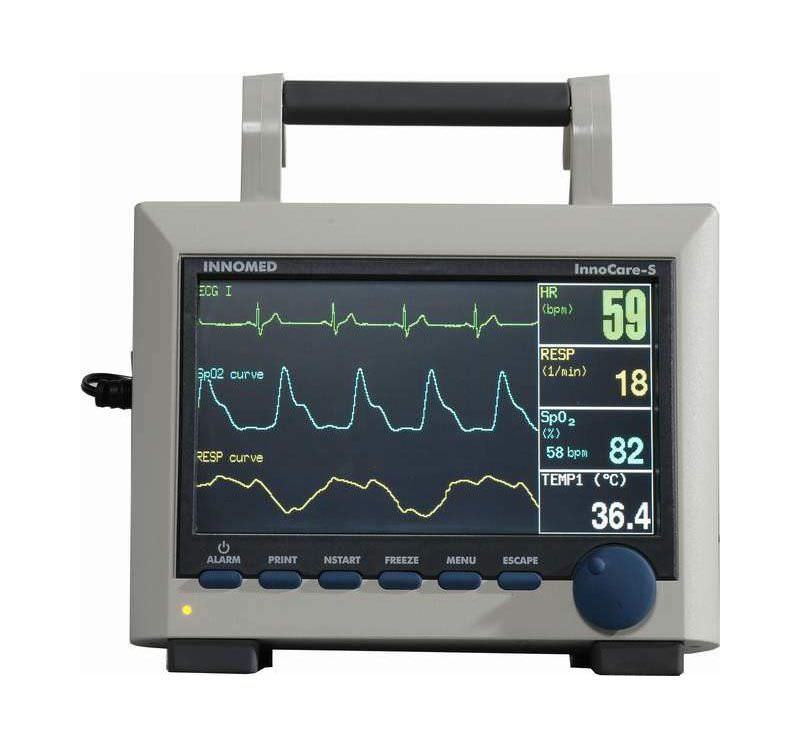 Compact multi-parameter monitor / transport / with touchscreen InnoCare-S Innomed Medical Developing and Manufacturing