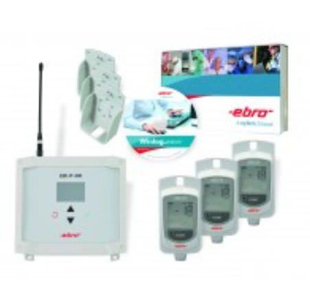 Temperature regulator data logger / humidity / wireless EBI 25-T-Set ebro Electronic