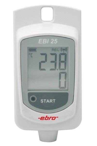 Temperature regulator data logger EBI 25-T ebro Electronic