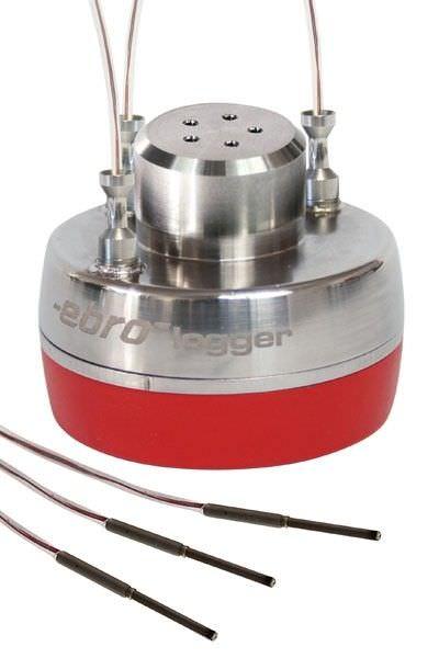 Pressure data logger / temperature regulator / with wireless data transmission EBI 10-TP450 ebro Electronic