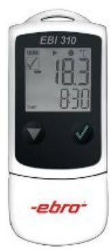 Temperature regulator data logger / USB EBI 310 ebro Electronic