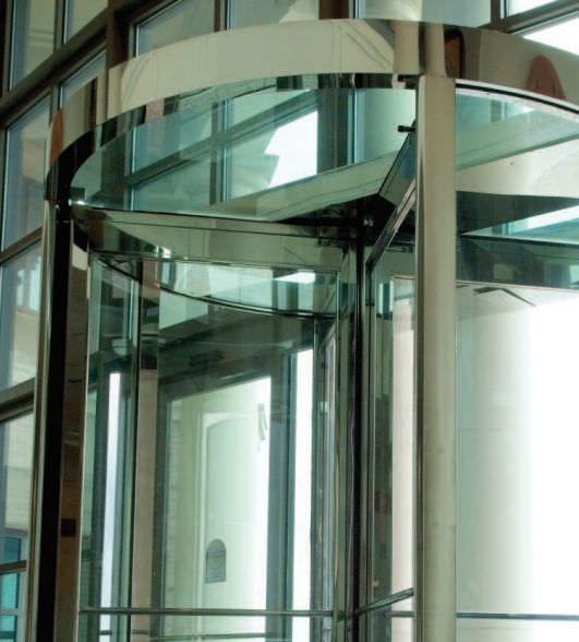 Laboratory door / hospital / automatic / drum HD-Slide 2500 Horton Doors