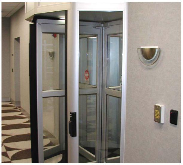 Laboratory door / hospital / drum / automatic ControlFlow 2 Horton Doors