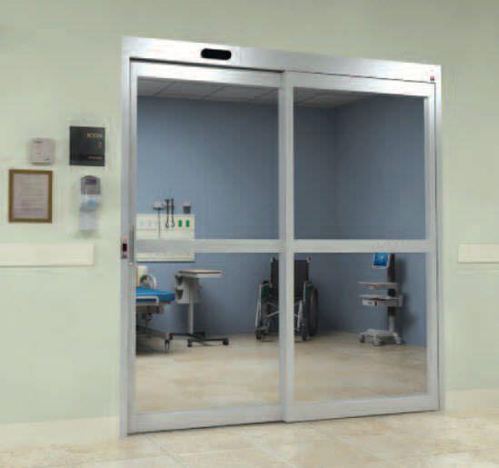 Laboratory door / hospital / automatic / sliding Horton Doors