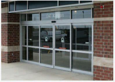 Laboratory double door / hospital / sliding / automatic HD-Slide 2001 Horton Doors