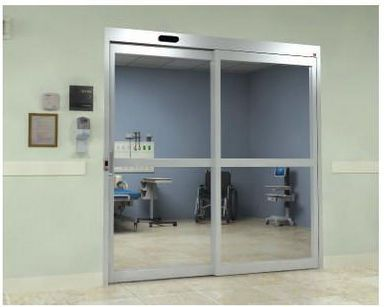 Hospital door / laboratory / automatic / sliding NPS Horton Doors