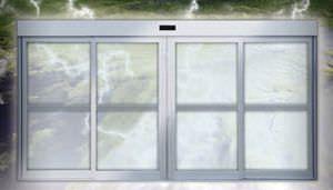 Hospital door / laboratory / automatic / sliding HD-Storm Horton Doors