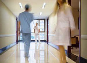 Hospital double door / automatic / sliding / lead-lined Horton Doors