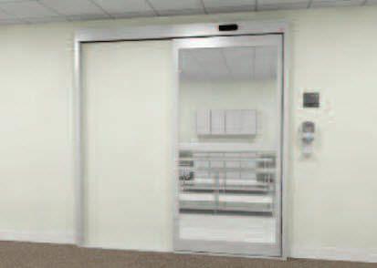 Laboratory door / hospital / sliding / automatic UltraClean™ Horton Doors