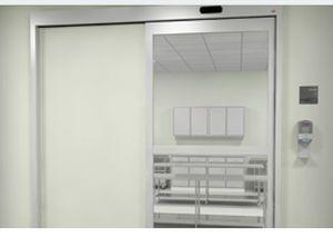 Laboratory door / hospital / automatic / sliding PPS Horton Doors