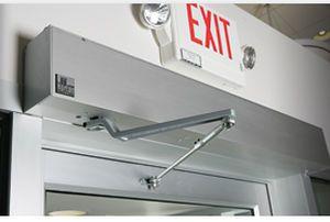 Laboratory door / hospital / automatic / swinging 7900, 4900LE Horton Doors