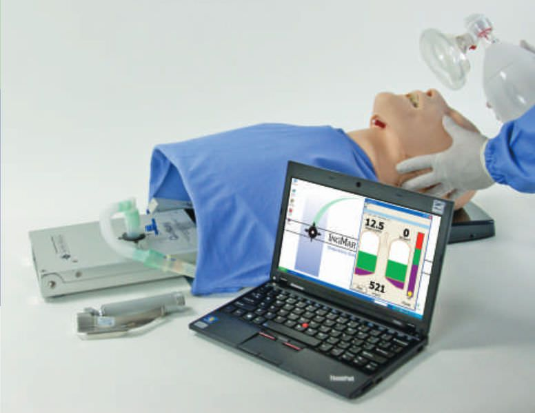 Intubation simulator / manual resuscitation RespiTrainer® Advance IngMar Medical