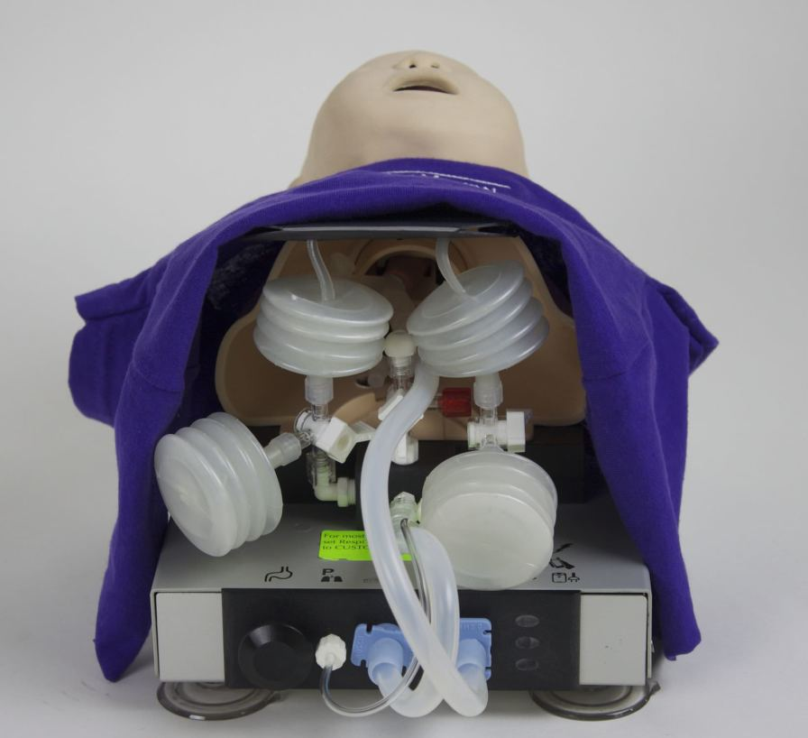 Manual resuscitation simulator / intubation RespiTrainer® Infant IngMar Medical
