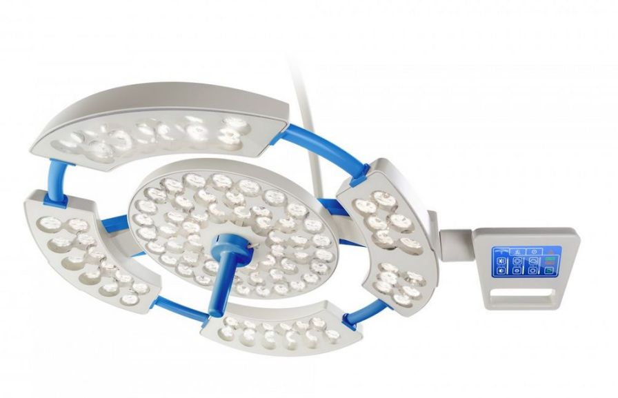 LED surgical light / wall-mounted / 1-arm NEXUS OL-01 and OL-02 Infimed