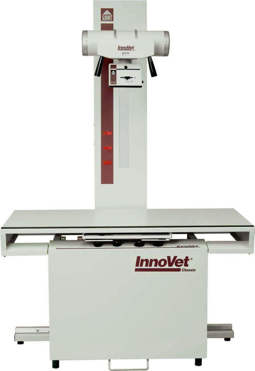 Analog veterinary X-ray radiology system / whole-body veterinary X-ray / with table InnoVet™ Classic InnoVet