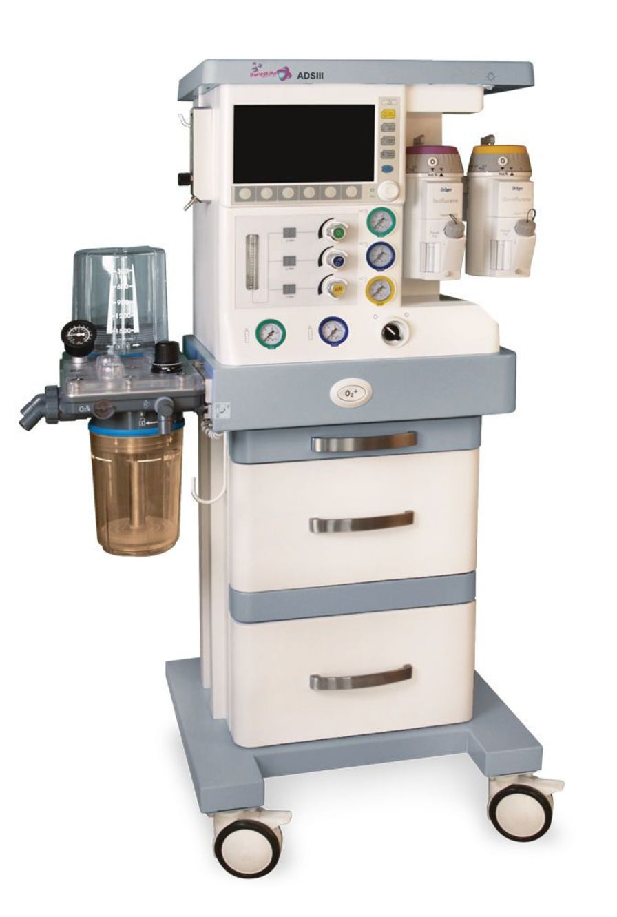 Anesthesia workstation with electronic gas mixer ADS II Infinium