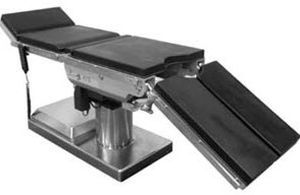 Universal operating table / electro-hydraulic / X-ray transparent / on casters ATS Infinium