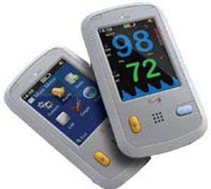 Pulse oximeter with separate sensor / handheld O2 Sat Infinium