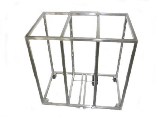 Stainless steel shelving unit 7504626 HUPFER