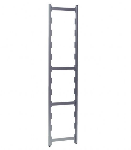 Support with aluminum frame / shelf 1200 kg | 0255005 HUPFER
