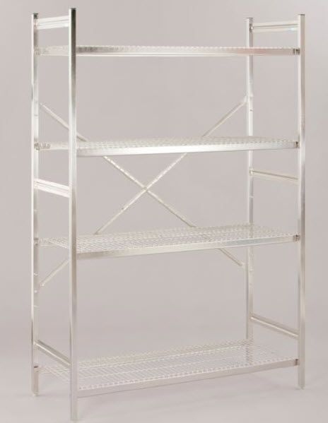 4-shelf shelving unit 7555002 HUPFER
