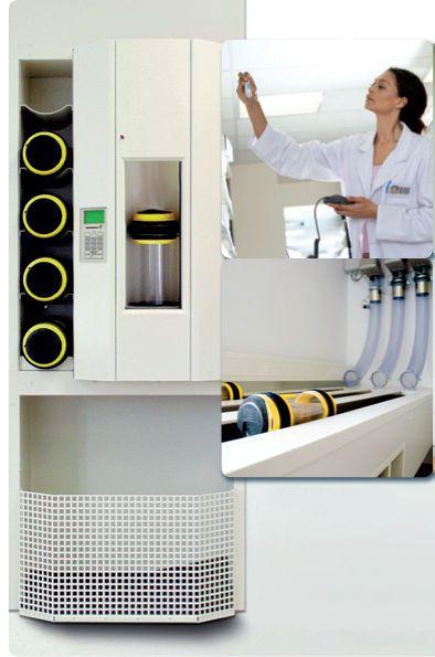 Pneumatic tube system hospital Ing. Sumetzberger