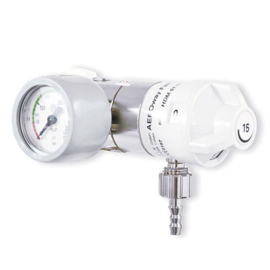 Oxygen pressure regulator 0 - 15 L/mn | AEROway® Fast 15- KL / KR HUM