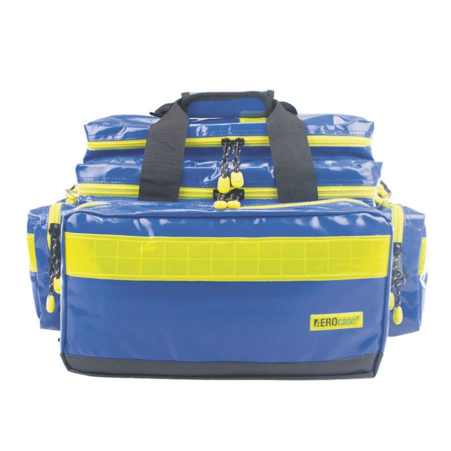 Emergency medical bag AEROcase® Pro1R BL1 Plan HUM